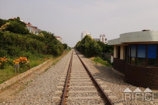 미포 철길(동해남부선 폐선 구간)